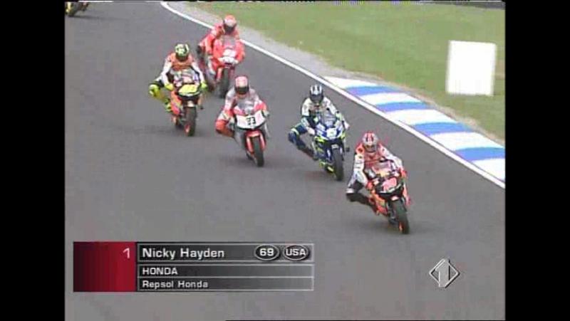 MotoGP 2003 round 15 Australian GP RACE