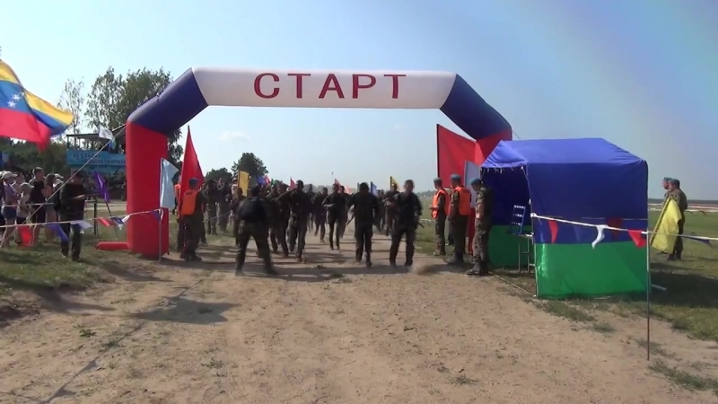 Десантный взвод 2018 (I этап, часть №1 (прыжки, марш бросок 10 км.))