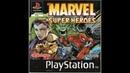 Marvel Super Heroes. PS1 Game. Walkthrough