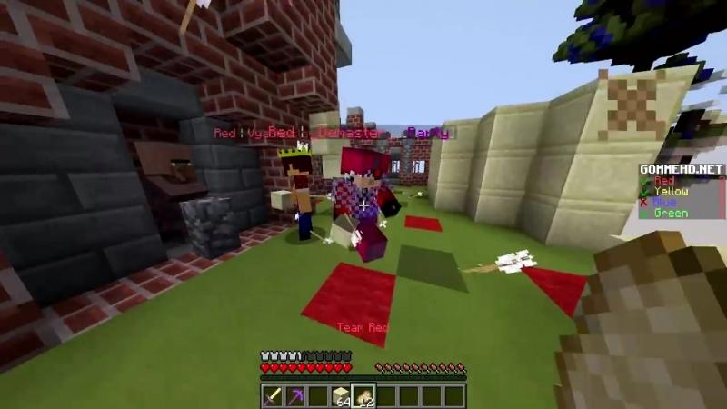 [TeroserPlay] БЕД ВАРС НА ОБЛАКАХ, АИД, ТЕРОСЕР И ДЕМАСТЕР ИГРАЮТ В БЕД ВАРС - Minecraft Bed Wars