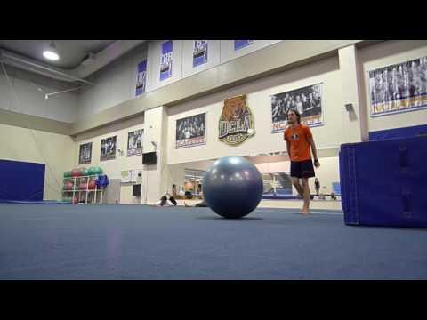 New exercise ball tricks!