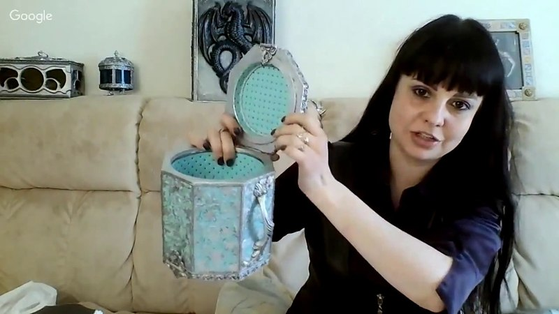 Ирина Трофимова Нетривиальный взгляд на стандартные заготовки для декупажа