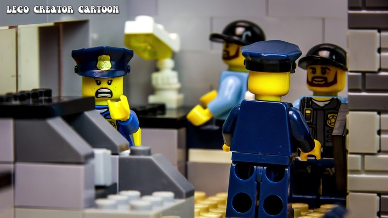 Lego criminal - Jail Break - short movie