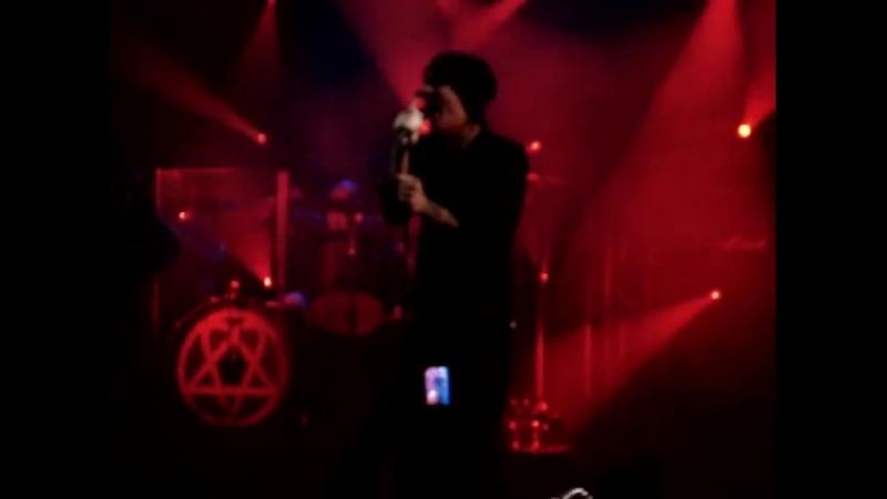HIM - Sleepwalking Past Hope LIVE@ Nosturi Hellsinki 27.12.2008