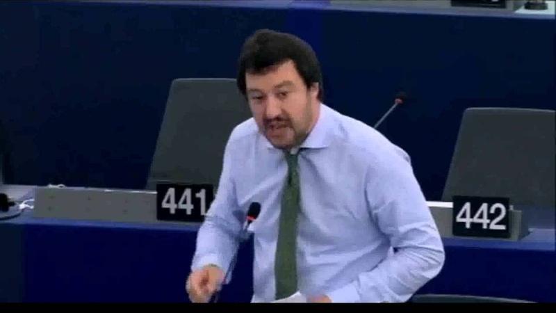 Matteo Salvini: muoia questa Europa di venduti