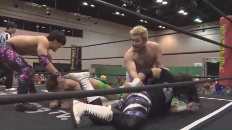 Sasaki, Mad Paulie, Shimatani vs. Dino, Takeshita, Iwasaki vs. Oishi, MAO, Katsumata (DDT - D-Ou Grand Prix 2018 - Day 6)