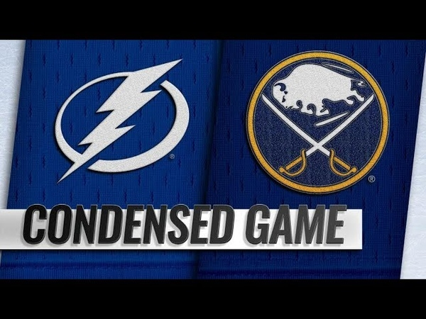 Tampa Bay Lightning vs Buffalo Sabres Nov 13 2018 Game Highlights NHL 2018 19 Обзор матча