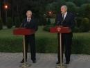 Заявления для прессы по итогам российско-белорусских переговоров