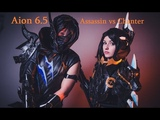 Aion 6.5 KR Assassin 80 lvl vs Chanter PVP Duels