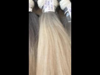Bulk straight hair, double quality