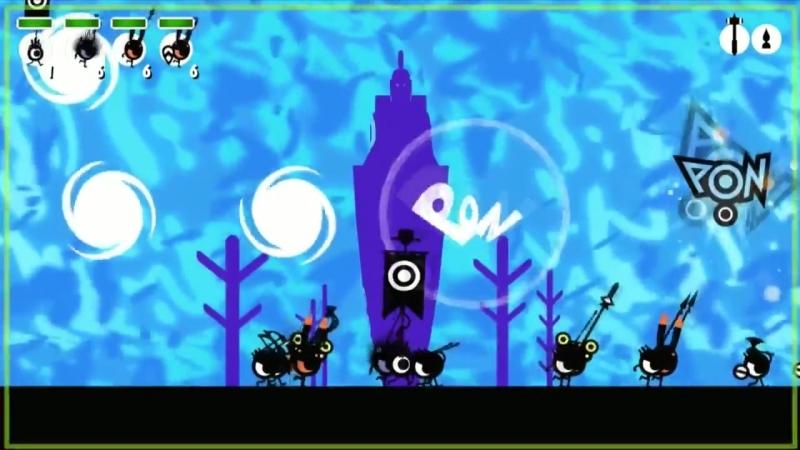 Чёрные глазастые шарики - История создания Patapon (Max Cost)