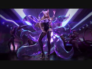 K DA - POP STARS (ft Madison Beer, (G)I-DLE, Jaira Burns) Login Screen - League of Legends