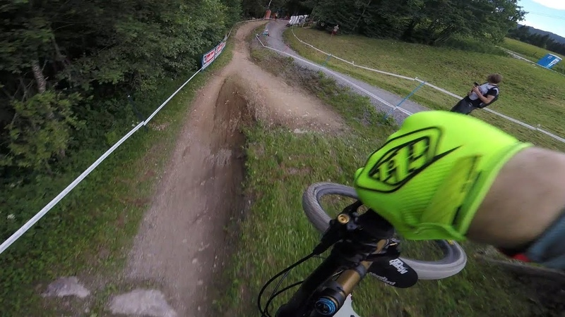 Luca Shaw - Leogang Track Preview 2018