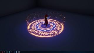 Niagara FX (Magic circle spell)