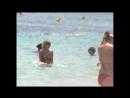 Topless Beach Babe