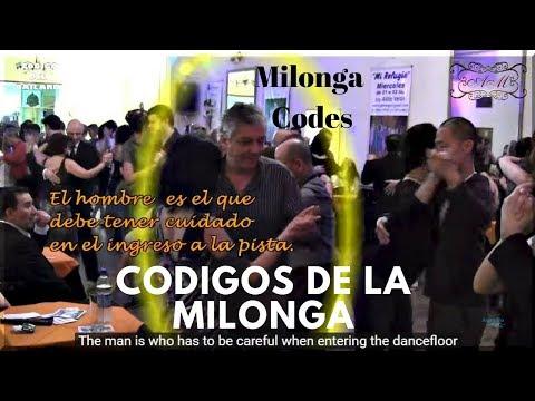 Bailar tango. Codigos de milonga. How dance tango with milonga Codes. Made in Buenos Aires SUBTITLES