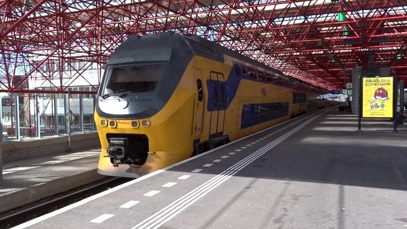VIRM 8715 vertrekt naar Hoogeveen vanaf Station Almere Centrum!