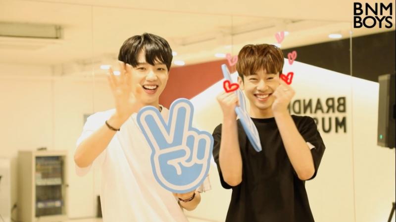 [RUS SUB] [170719] Im Youngmin x Kim Dong Hyun - Brand New Boys Channel open congratulatory message