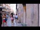 Una chica un vestido y Barsenegalona de Qatarluña Huele a judiada a kilómetros