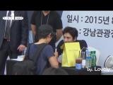 Чжи Чан Ук на автограф-сессии в рамках своей выставки в туристическом информационном центре Каннам 02.08.2015.