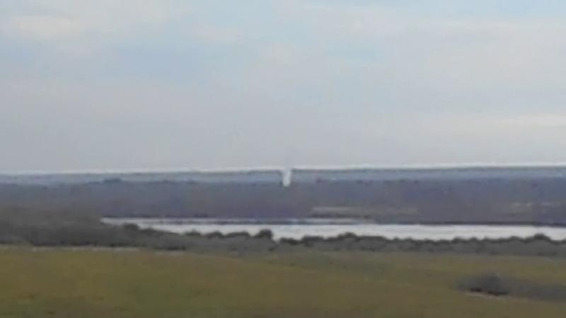В Усть-Выми в небо рвался столб газа