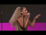 Leona Lewis performs Thunder at Point Honors LA 2018