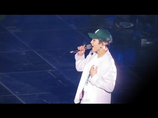 [FANCAM] 180804 Summer Vacation with EXO-CBX: D-1 @ EXO-CBX Xiumin - Sweet Dreams