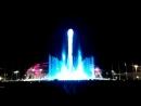 Поющий фонтан в вечернем Олимпийском парке русский балет