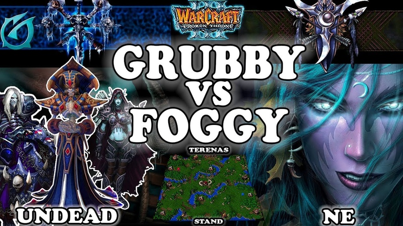Grubby | Warcraft 3 TFT | 1.30 | UD v NE on Terenas Stand - GRUBBY vs FOGGY