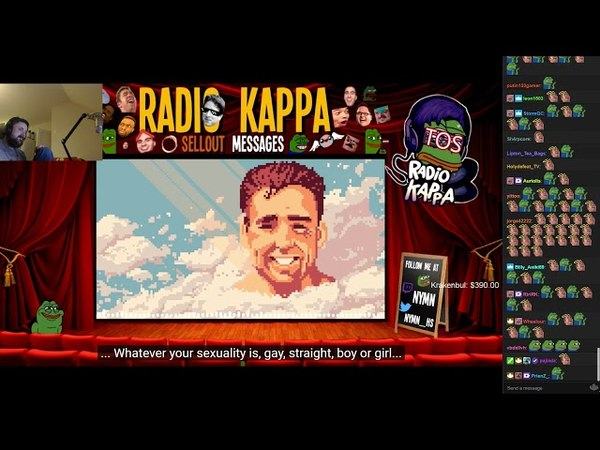 Forsen reacts to Radio Kappa 15 (114) with live twitch chat!
