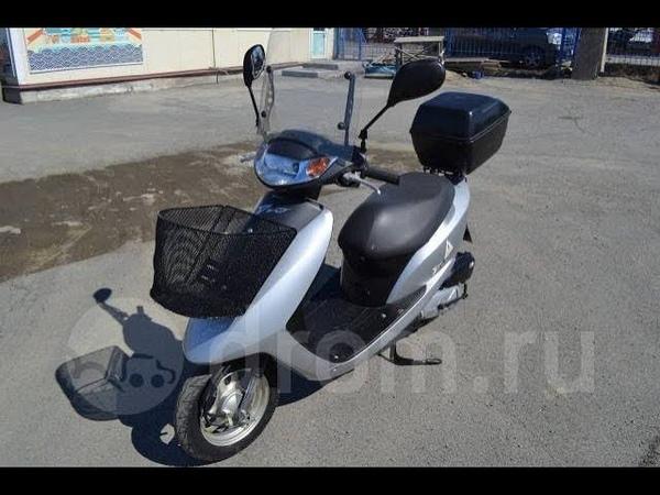 Honda Dio AF62 (ветровое стекло, корзина, кофр)