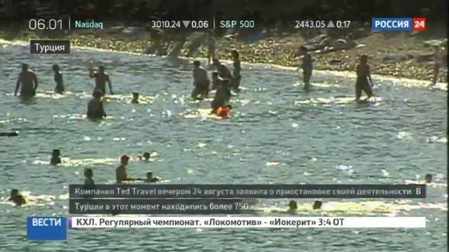 Новости на Россия 24 • Вылет клиентов Ted Travel отложили на 10 часов