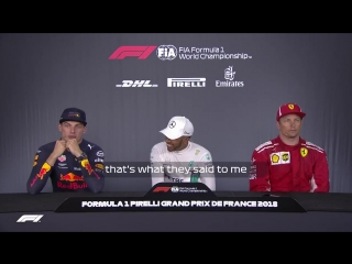Max about that five-second penalty for Seb