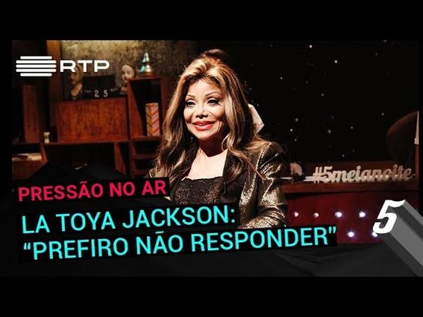 La Toya Jackson Eu prefiro não responder 5 Para a Meia Noite RTP