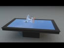 Голографический макет многоцелевого истребителя четвёртого поколения