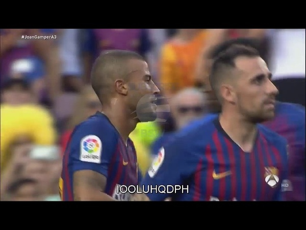 Rafinha Goal - Barcelona vs Boca Juniors 3-0 - 15/08/2018 HD