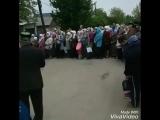 На торжественном мероприятии... установка купола и минарета мечети г. Алчевск