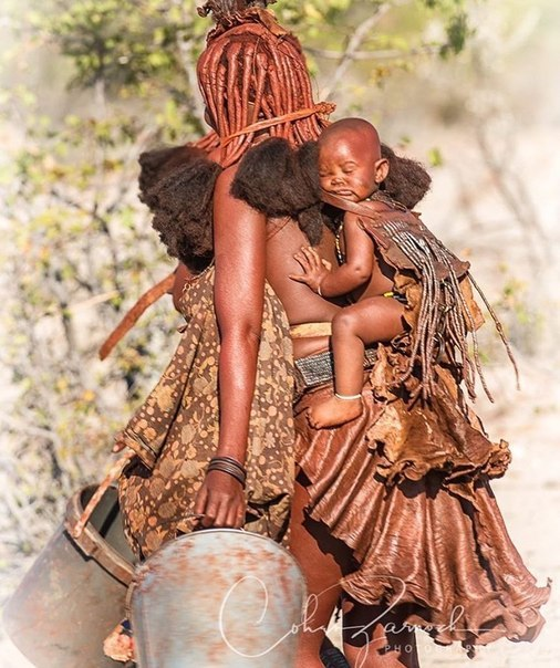 Маленький воин племени химба