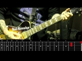 Sasha Rock'n'Roll guitar lessons - Iggy And The Stooges (Down On The Street) видео урок №19 tutorial
