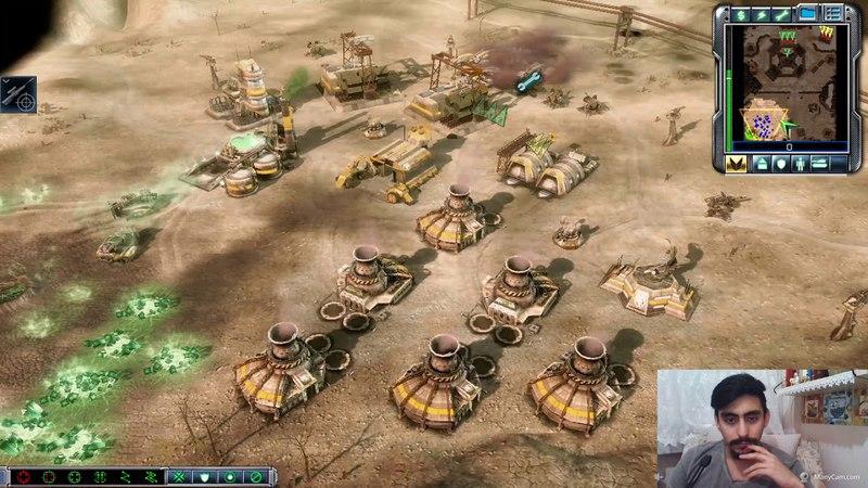 Nükleer Bomba Yiyoduk Az KalsınCommand Conquer Tiberium Wars 3 oynayış gameplayGdı SenaryoBölüm8