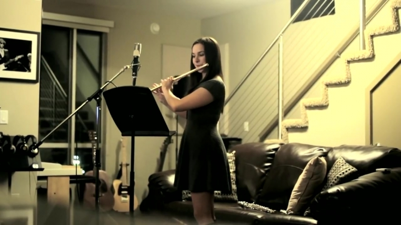 New World Sound Thomas Newson Flute Instrumental Cover by Gina Luciani
