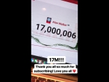 Alan Walker: 17 million subscribers