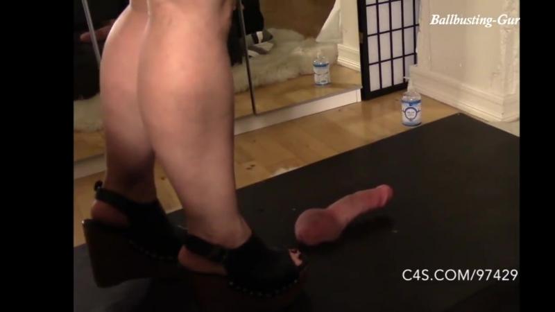 Hard Cock Crush _ Foot Fetish ballbusting