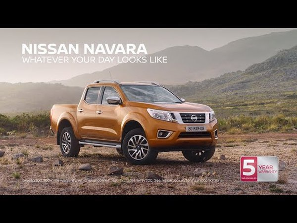 Музыка из рекламы Nissan Navara (2018)