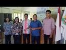 Keluarga besar SMP ST Louis 2 Surabayadukung pilkada damai tolak Hoax