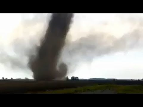 СРОЧНО! Смерч в Гомельской области (Беларусь, 24 мая 2018) | Tornado in Belarus on may 24, 2018