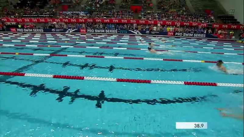 Men's 100m Breast A Final _ 2018 TYR Pro Swim Series - Indy