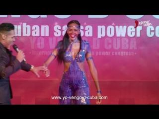 Yeni molinet - yo vengo de cuba. cuban salsa power congress 2018