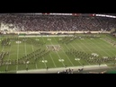 Fightin' Texas Aggie Band 4 Way Cross for Western Carolina Game at Kyle Field on November 14 2015