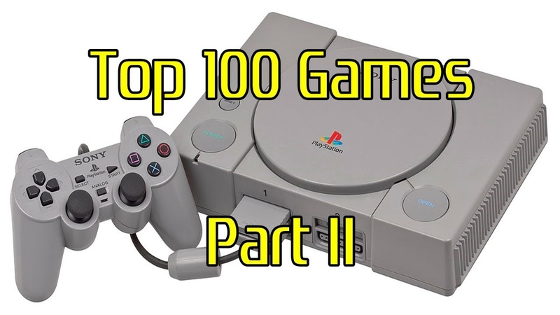 Top 100 Games on PlayStation 1 / PS1 [Part 2 of 4]